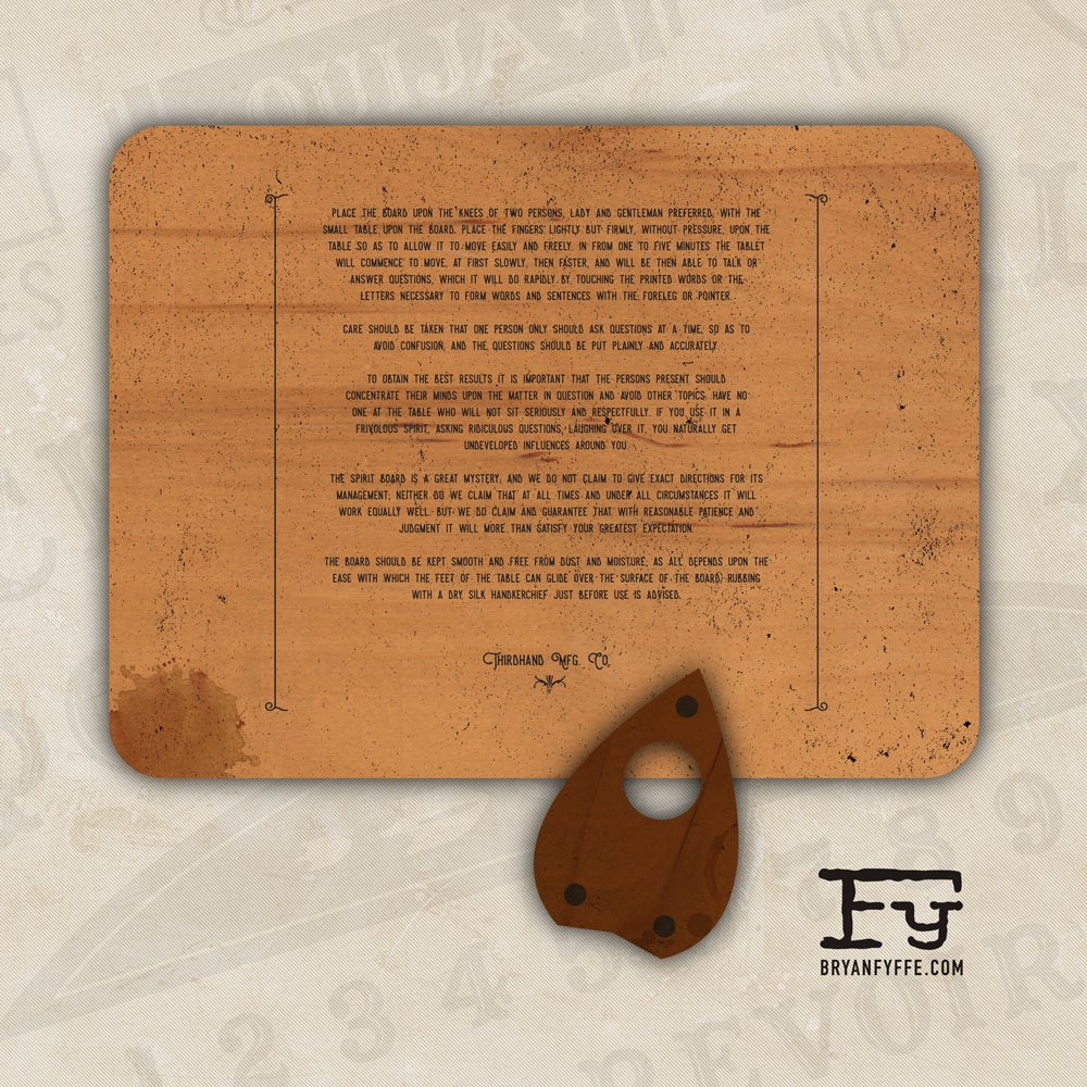 Image of Spirit Board (Limited Edition)