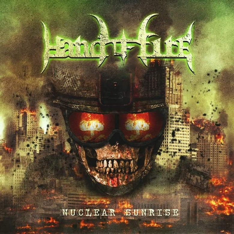 "Image of HAND OF FIRE - ""NUCLEAR SUNRISE"" CD"