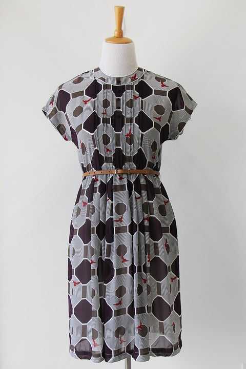 Image of SOLD Flight of the Tiles Dress