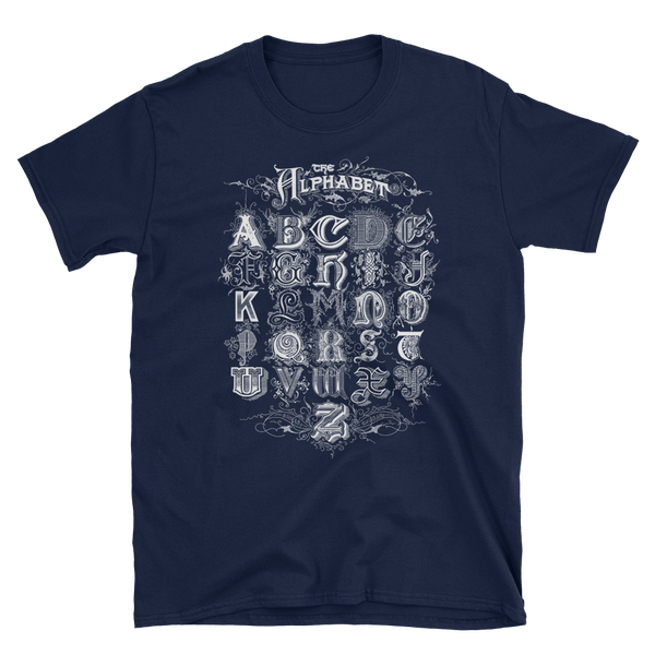 Image of Alphabet Shirt Navy