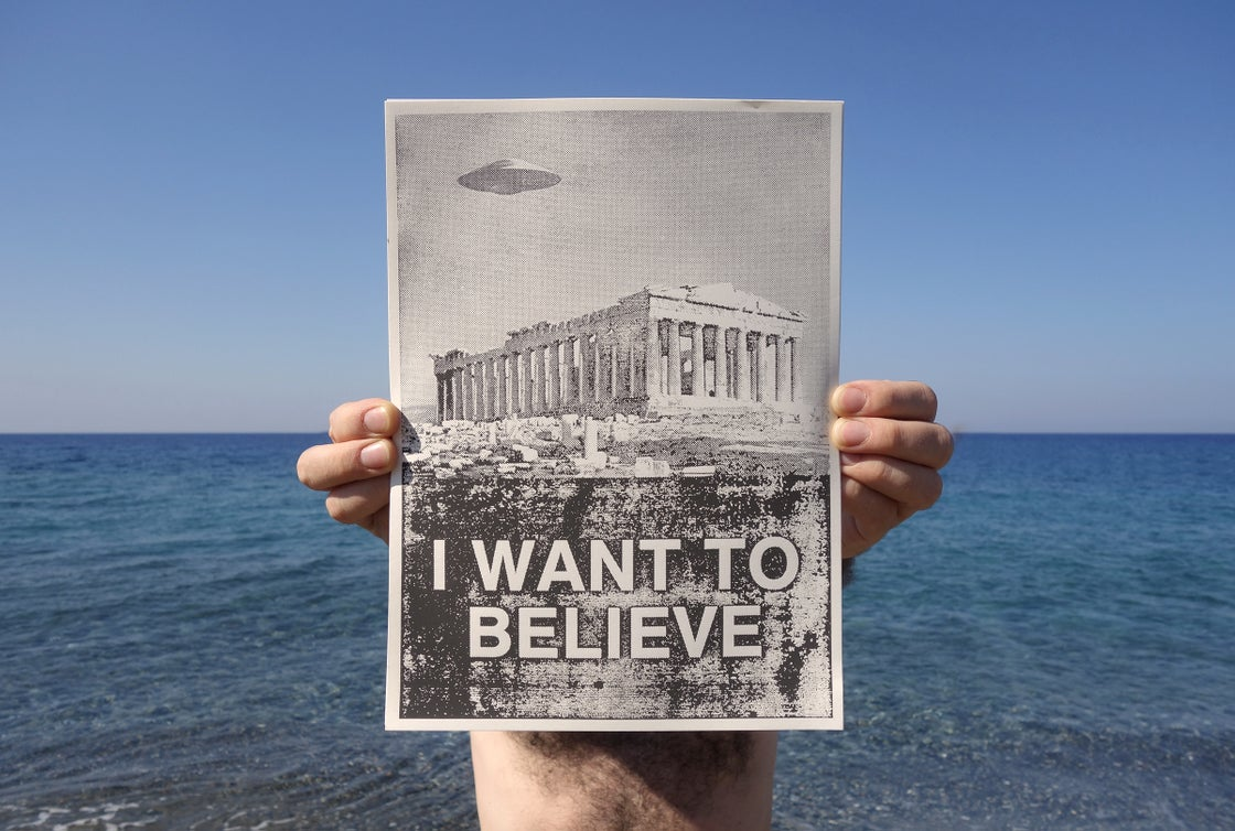 Image of I want to believe / pay as you wish