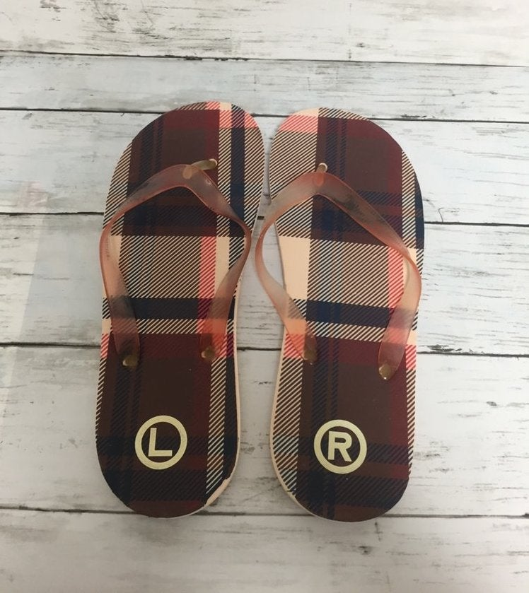 Image of Bape x Smart Mag Exclusive Checkered Sandals