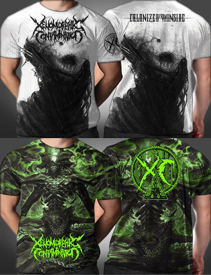Image of NEW FULL PRINTED TSHIRTS - PREORDER NOW!!
