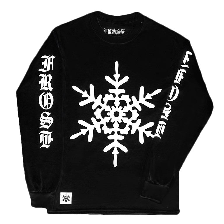 Image of CLASSIC LONGSLEEVE BLACK AND WHITE