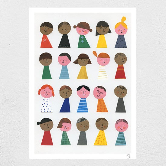 Image of The Kids are Alright Print
