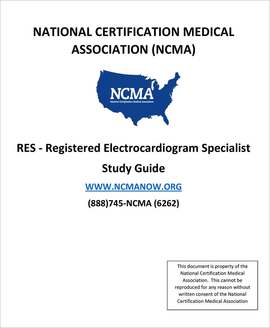 Image of RES – Registered Electrocardiogram Specialist