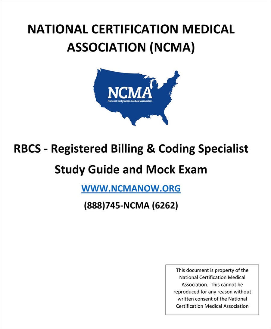 Image of RBCS - Registered Billing and Coding Specialist