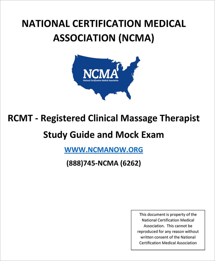 Image of RCMT- Registered Clinical Massage Therapist