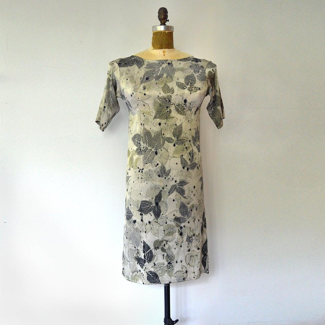 Image of platinum second skin dress