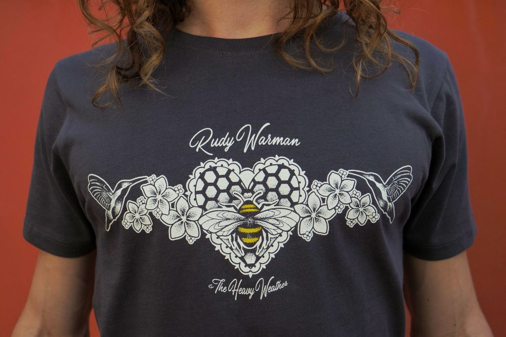 Image of Rudy Warman Organic Humming Bird & Honey Bee T