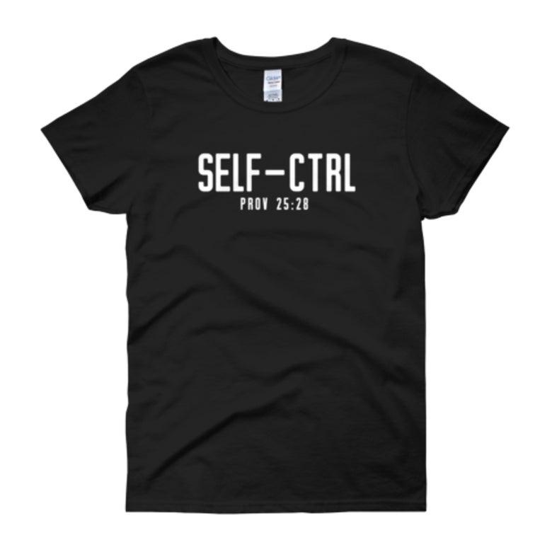 Image of Self-CTRL - Women's Tee (Black)