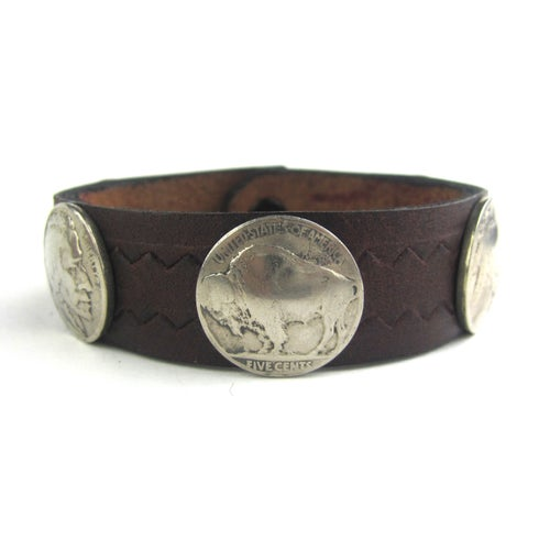 Image of Indian Head Cuff (Chocolate)