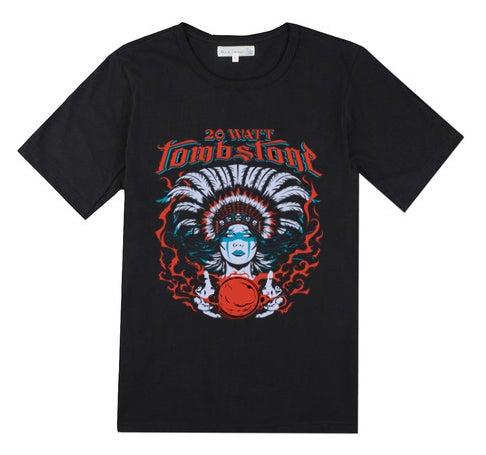 """Image of [PRE-ORDER] NEW! Dan Biesel """"Spirit Healer"""" Design T-Shirt"""