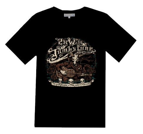 "Image of NEW! Dan Biese ""Death Blues"" T-Shirt Design"