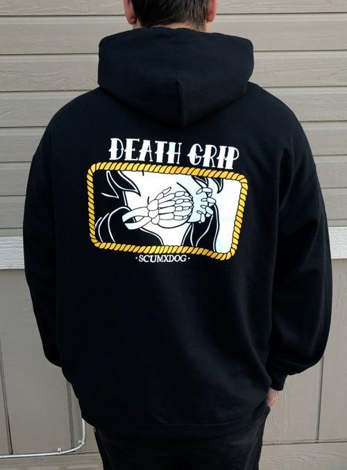 Image of DEATH GRIP HOODIE (PREORDER)