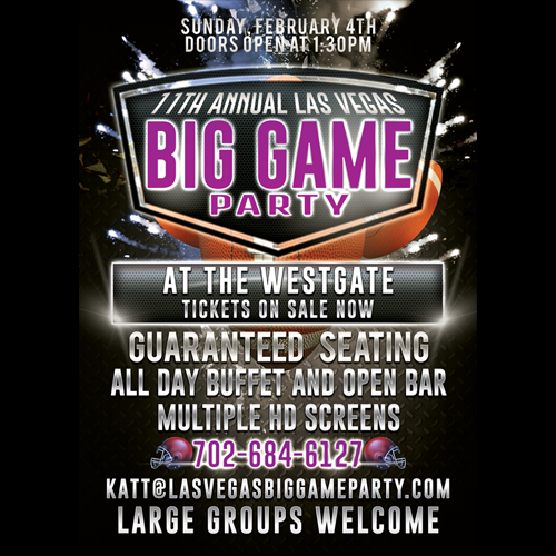 Image of Las Vegas Big Game Party Tickets