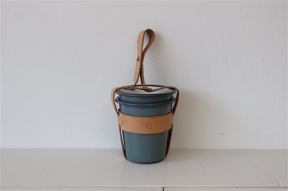 Image of ENAMEL TUMBLER CARRIER