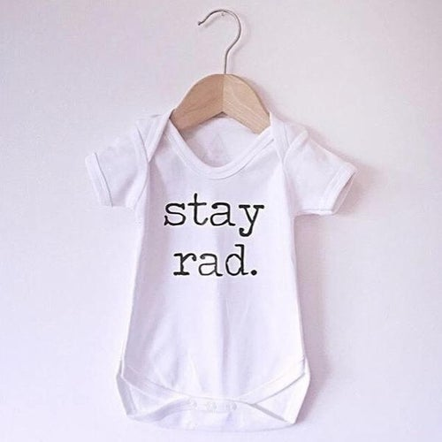 Image of STAY RAD. Babygrow