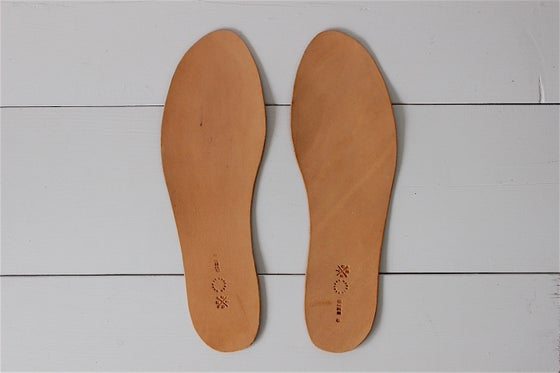 Image of LEATHER INSOLE