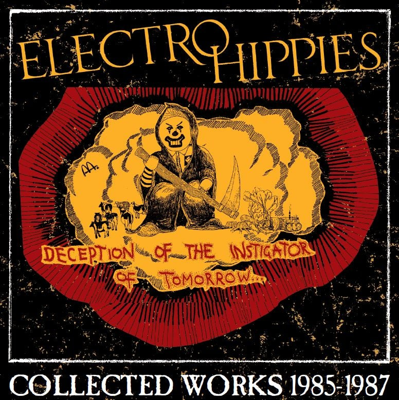 Image of Electro Hippies - Deception Of.. Double LP with CD included + T SHIRT Offer!