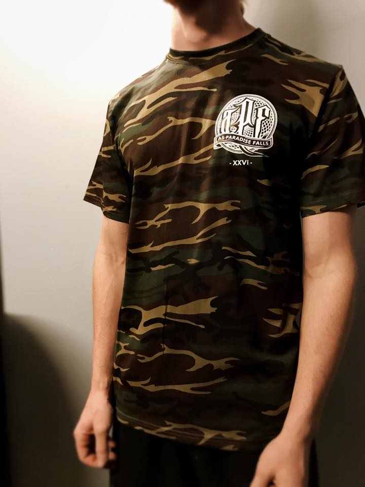 Image of As Paradise Falls || Camo Tee *NEW LIMITED STOCK*