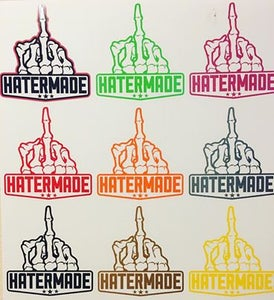 "Image of $5 ""Middle Finger"" Decal, Single Color"