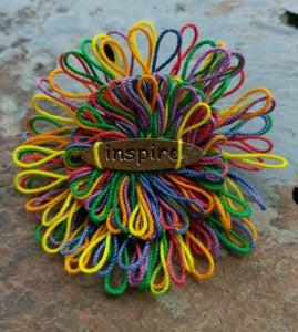 Image of Inspire Pin, handmade