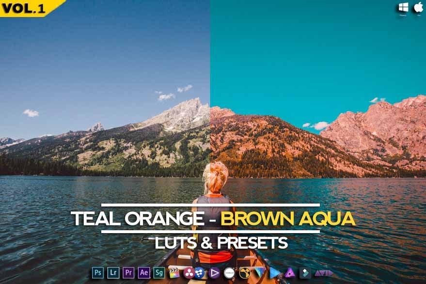 Image of Brown Aqua (Psychedelia) - RMN Luts & Presets