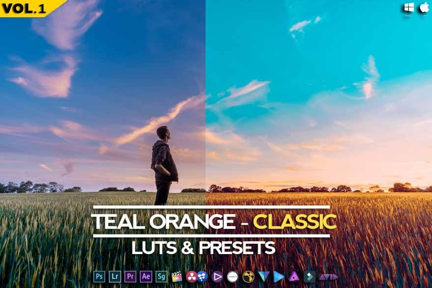 Image of Teal Orange - Classic Presets & Luts