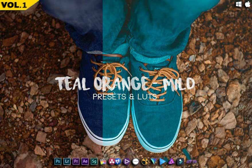 Image of MILD Teal And Orange - Luts & Presets - RMN