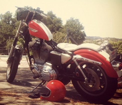 "Image of '82-'03 Sportster ""2 UP"" Cobra King Seats"