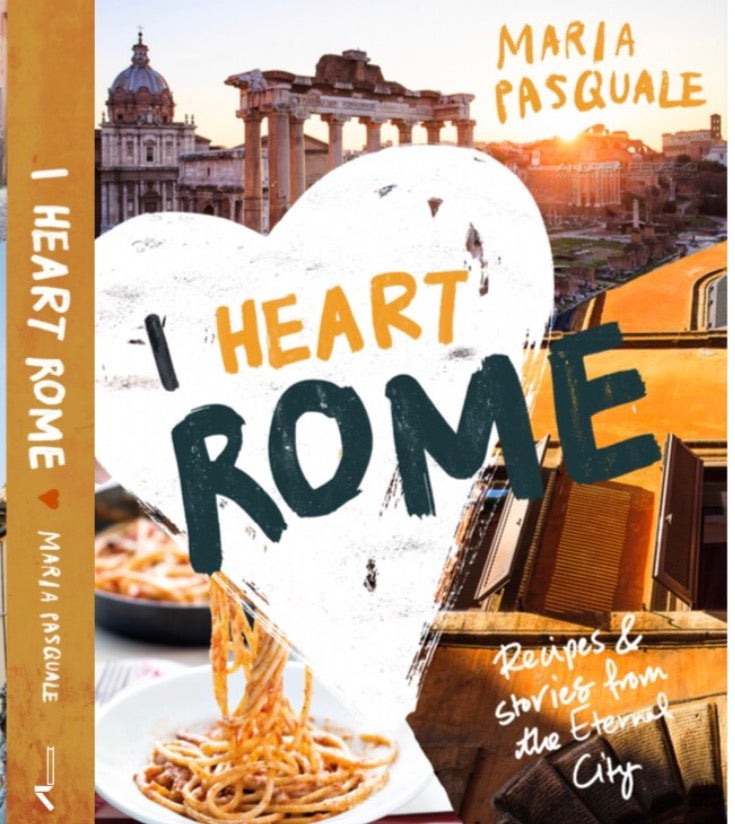 Image of PRE ORDER - I Heart Rome - the book, signed by Maria Pasquale (Australia only)
