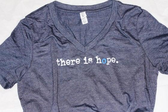 Image of Ladies V Neck T-Shirt