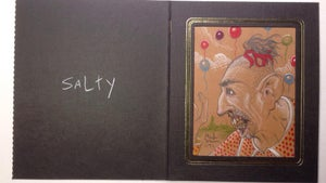 Image of AHS ~ FREAKSHOW original painted portraits (set of 3)