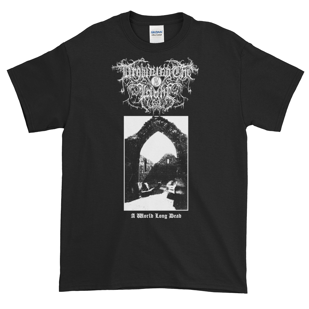 """Image of Drowning the Light - """"A World Long Dead"""" shirt"""