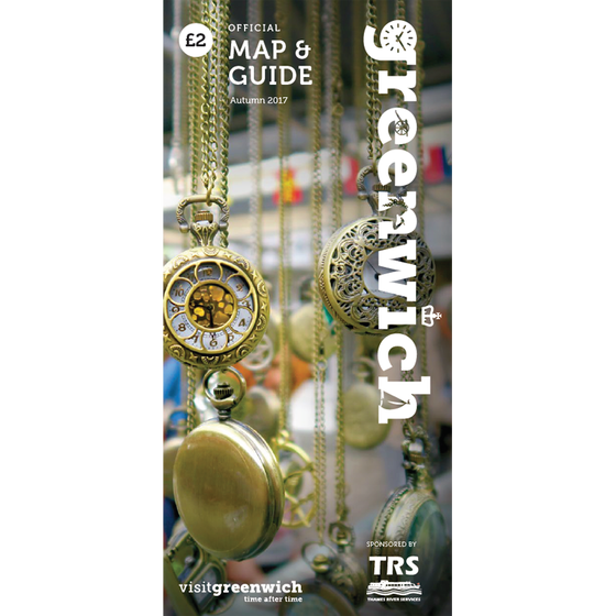 Image of Greenwich Map & Guide: October - December 2017