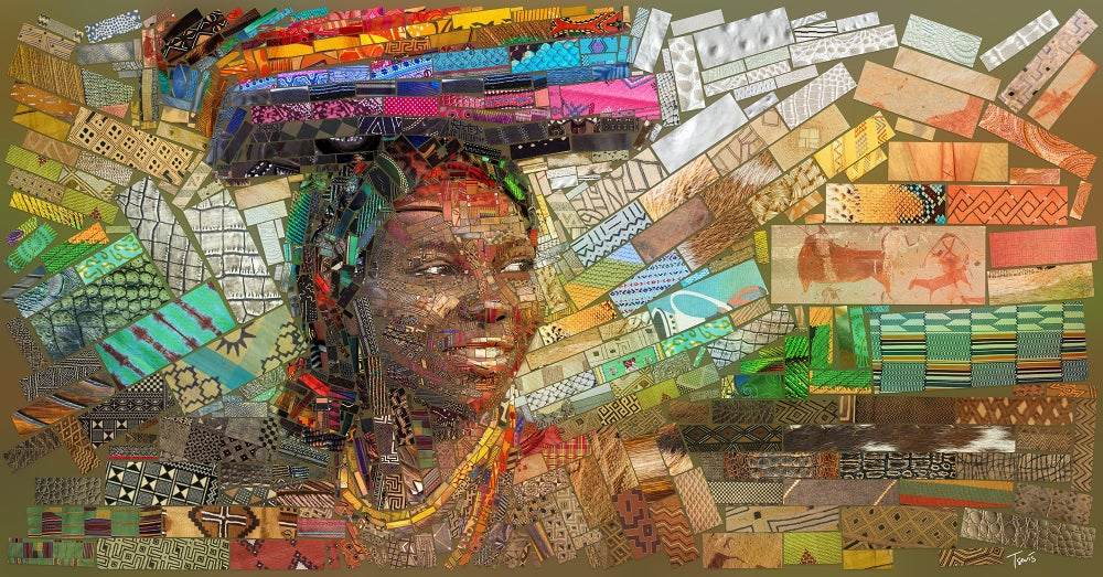 """Image of THE AFRICAN BRICKS """"Staring at the sun"""" (Limited edition fine art prints)"""