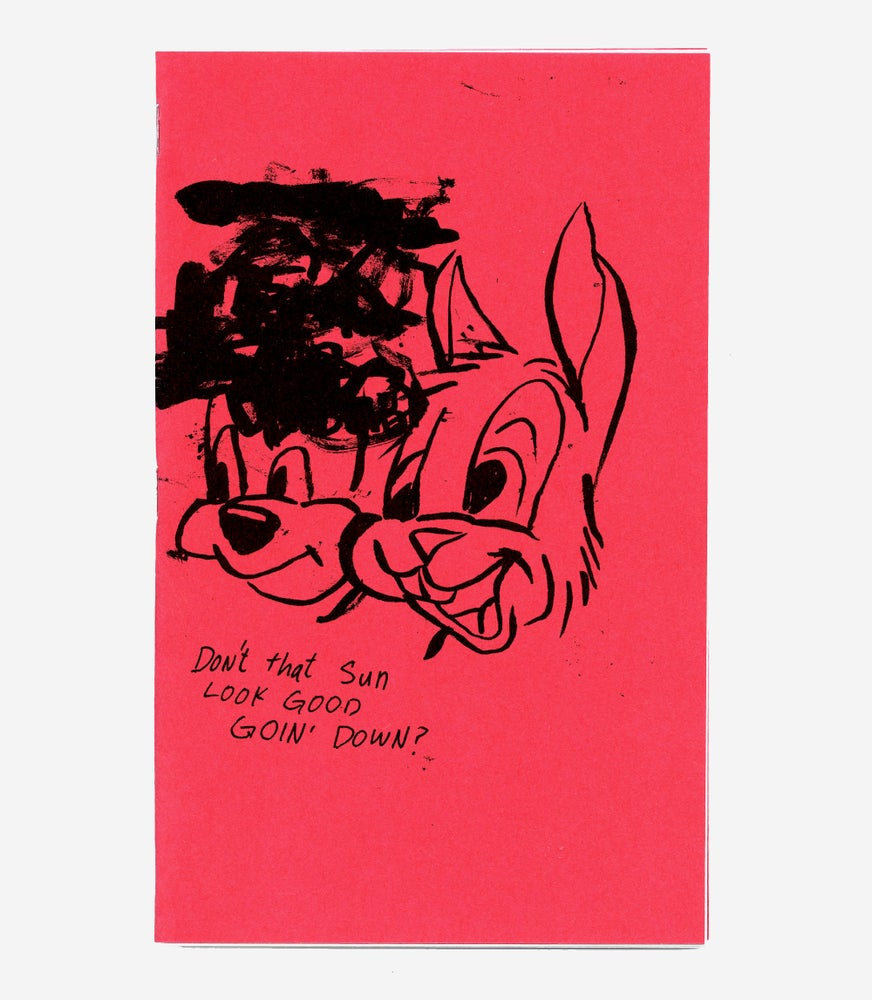Image of DON'T THAT SUN LOOK GOOD GOIN' DOWN ZINE