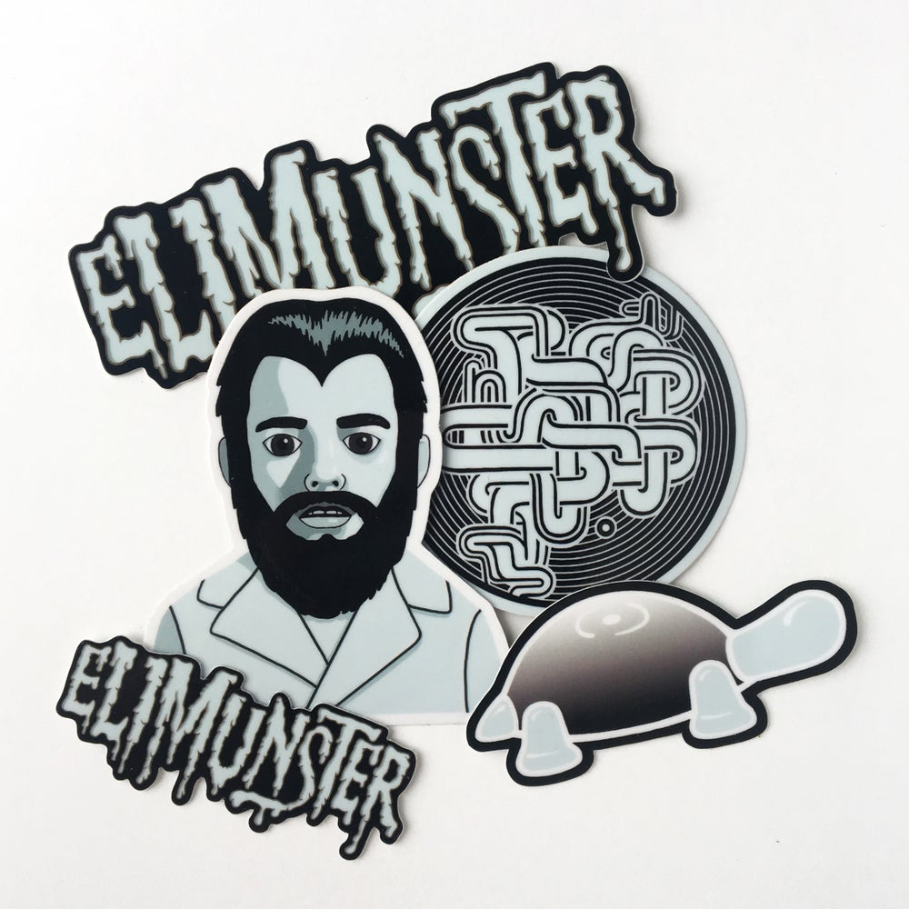 Image of Eli Munster / Sticker Pack