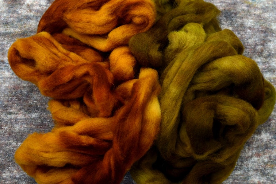 Image of Semi-Solid Color Set - Shetland - Corn and Pickle