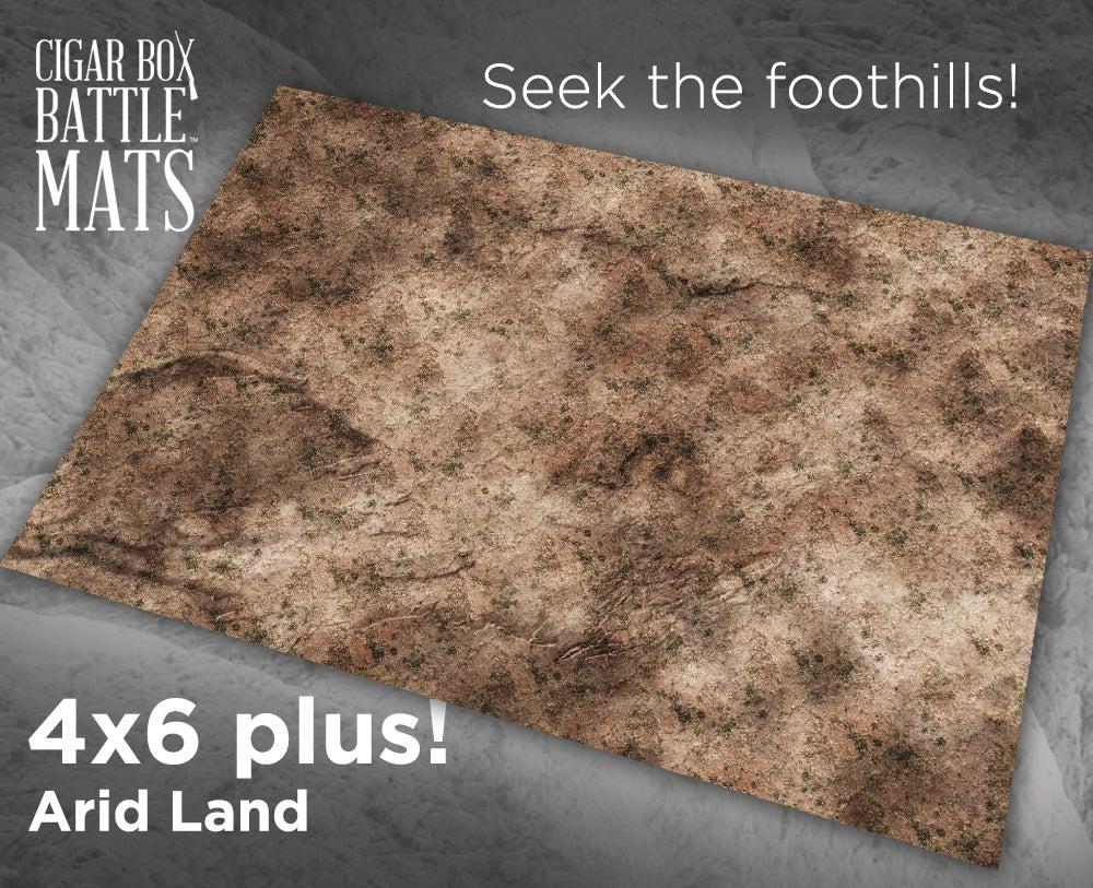 Image of Arid Lands -- 4'x6' plus -- #480