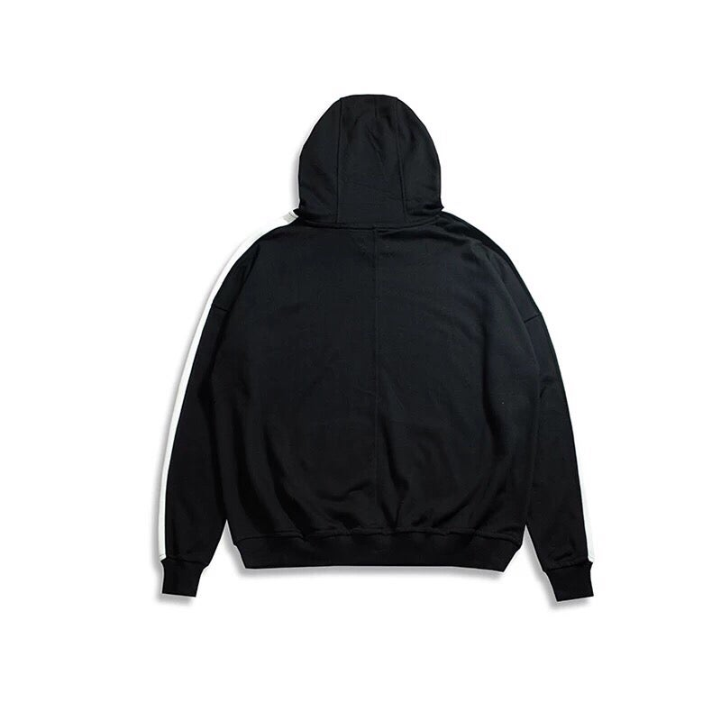 Image of White Striped Hoodie