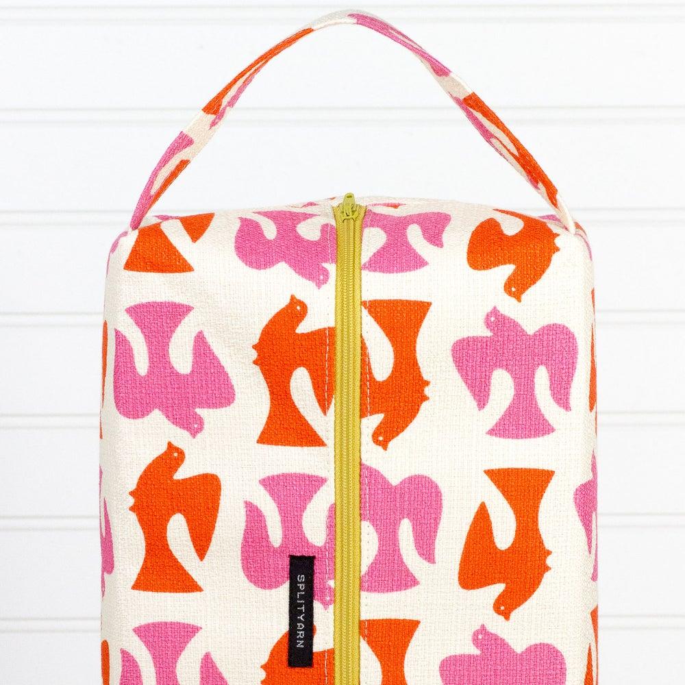 Image of Jessica Jones On the Fly Orange Biggie Box Bag