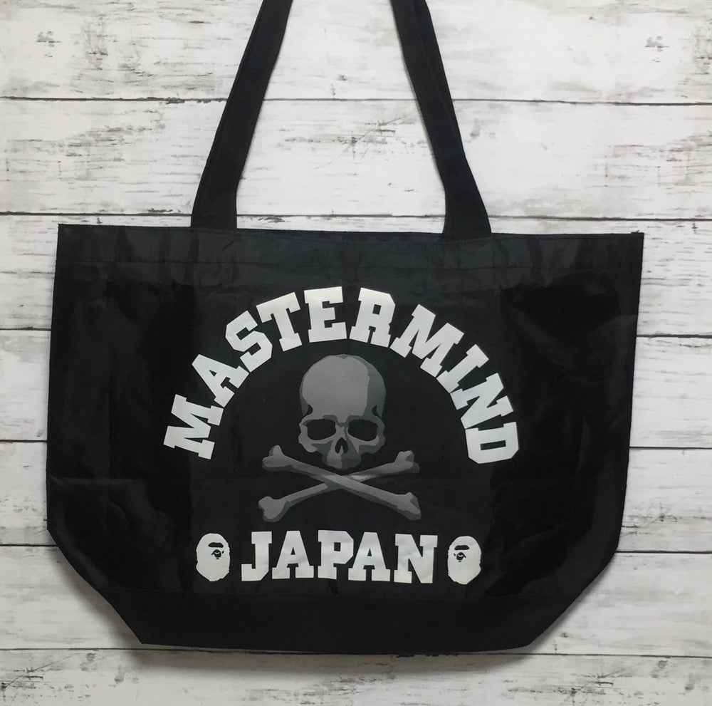 Image of Bape x Mastermind Tote bag Japan Exclusive