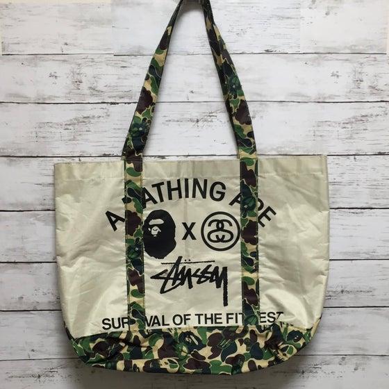 Image of Bape x Stussy Tote Bag
