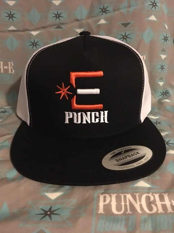 Image of Punch-E logo orange