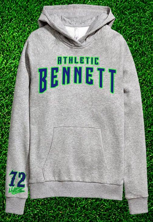 Image of Bennett Athletic Grey Hoodie
