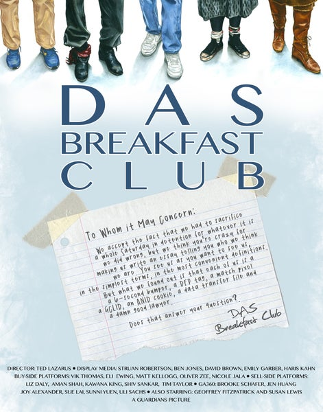 Image of Custom DAS Breakfast Club Poster
