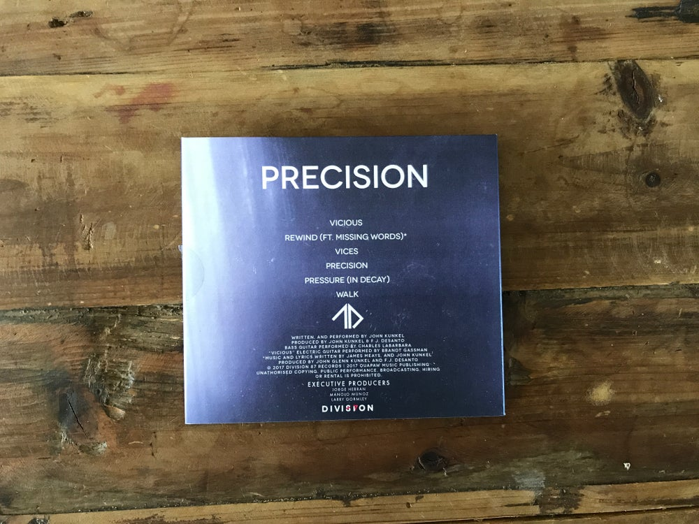 Image of Precision - CD