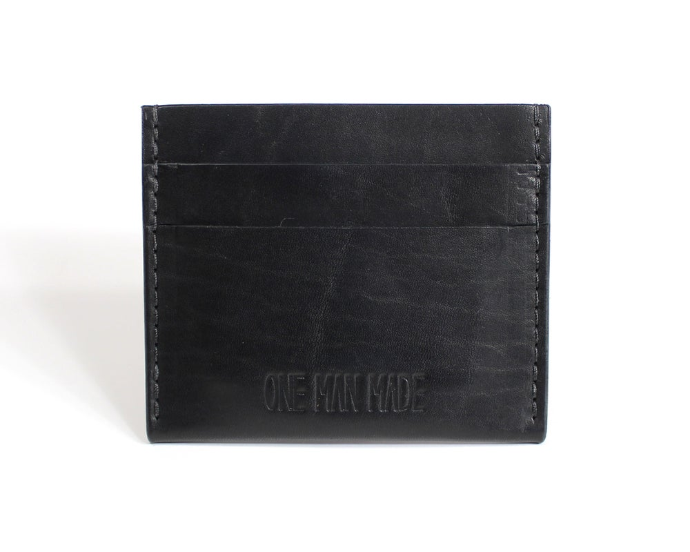 Image of Plus Card Case - Black Dublin